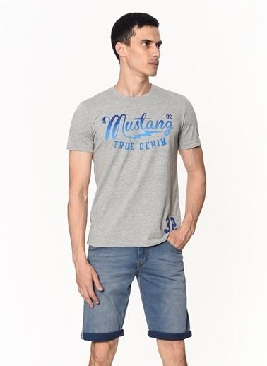 Mustang Jean Şort Lacivert
